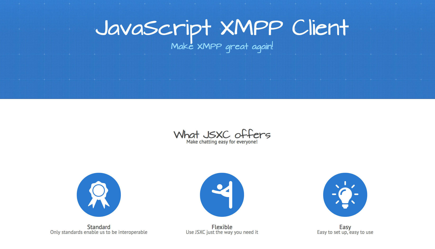 Have you heard about the JavaScript XMPP Client · The ...