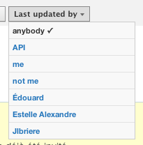 Last Updated By API