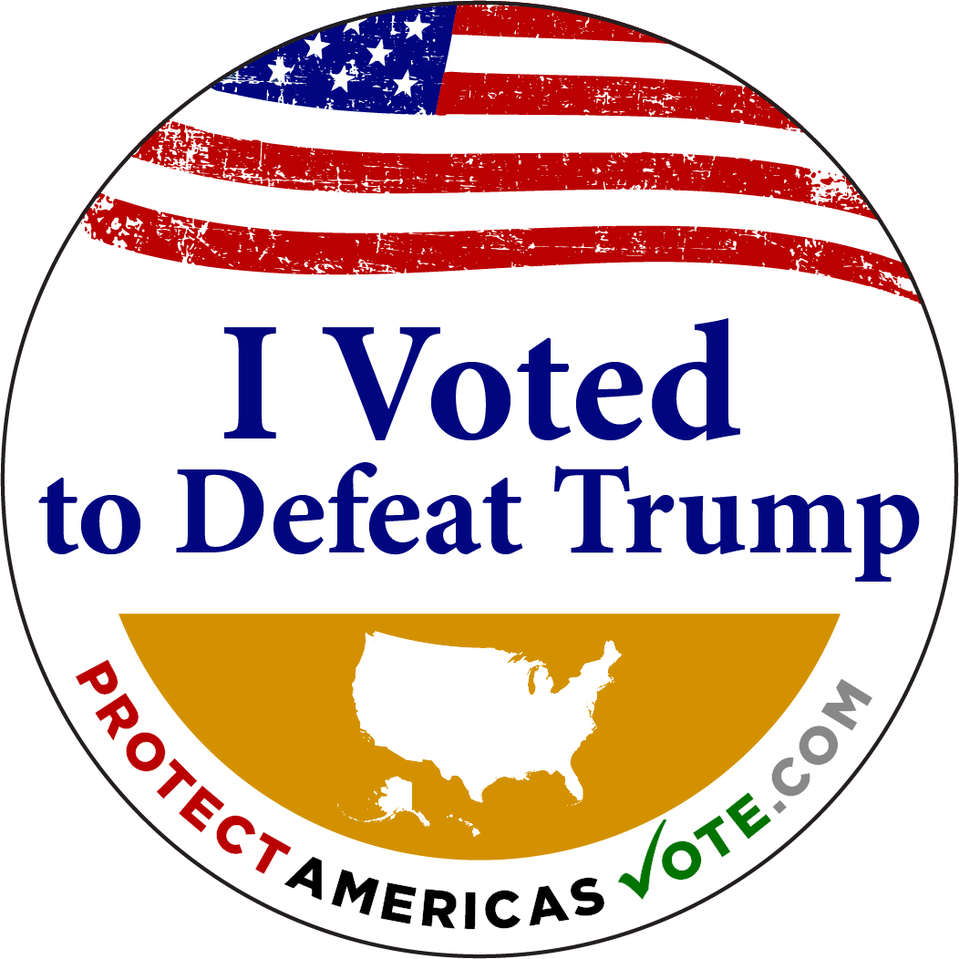 I Voted to Defeat Trump