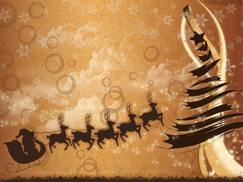 holydays 30 Remarkable Christmas Wallpapers, Part II