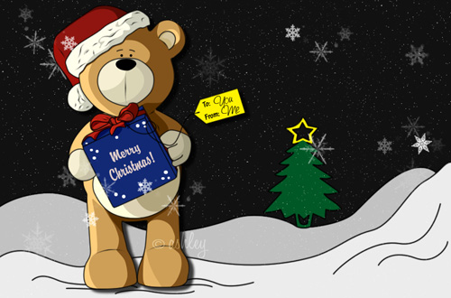 teddys present 30 Remarkable Christmas Wallpapers, Part II