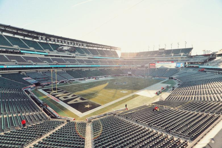 Lincoln Financial Field empty stadium