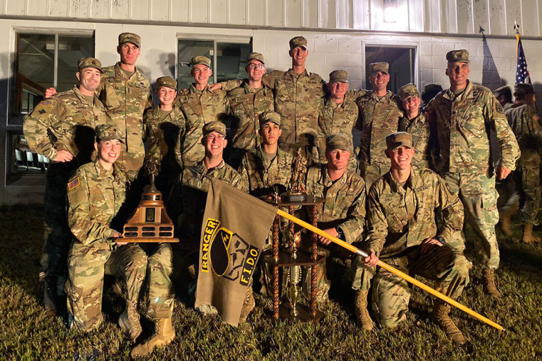 James Madison University ROTC Team