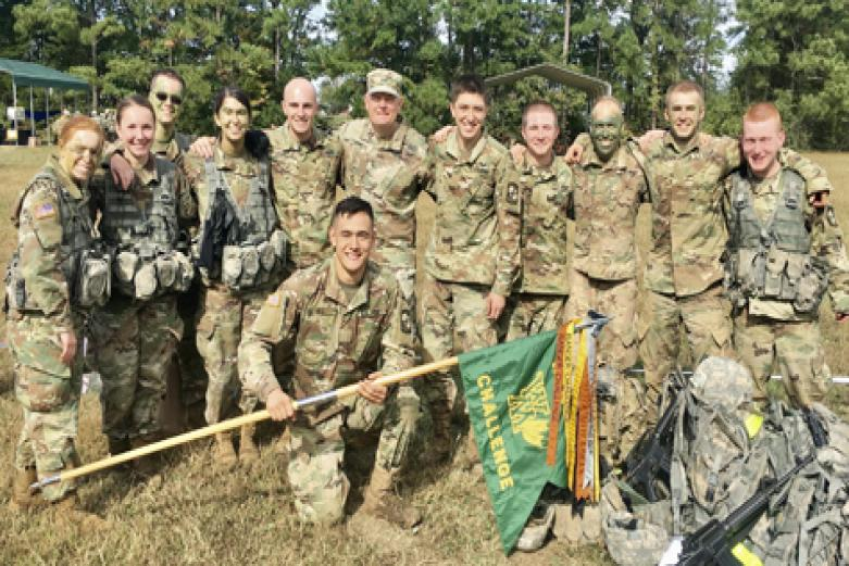 William and Mary ROTC team compete at Ranger Challenge