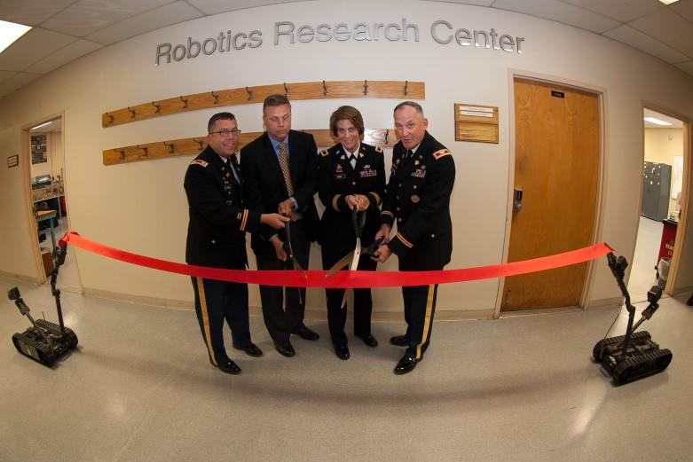 RRC ribbon cutting