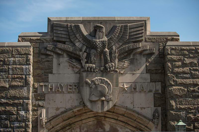 Thayer Hall outside