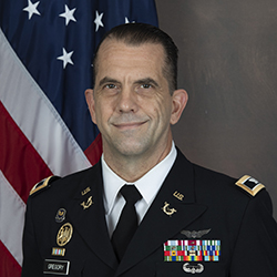 COL Gregory official photo
