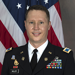 COL Miller official photo in uniform