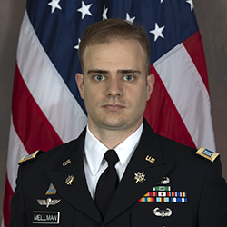 CPT Mellman official photo in uniform