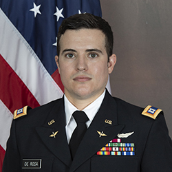 CPT DeRosa official photo in uniform