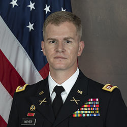 CPT Moyer official photo in uniform