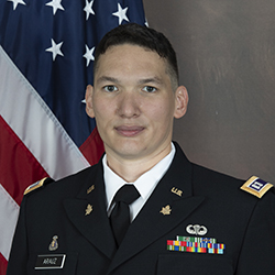 CPT Arauz official photo in uniform