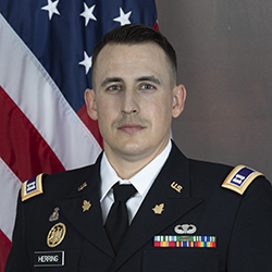 CPT Herring official photo in uniform