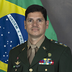 LTC Melo Franco of the Brazilian Army