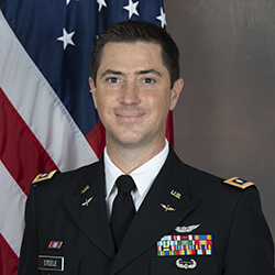 LTC Steele in uniform official photo