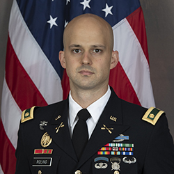 MAJ Roling official photo in uniform
