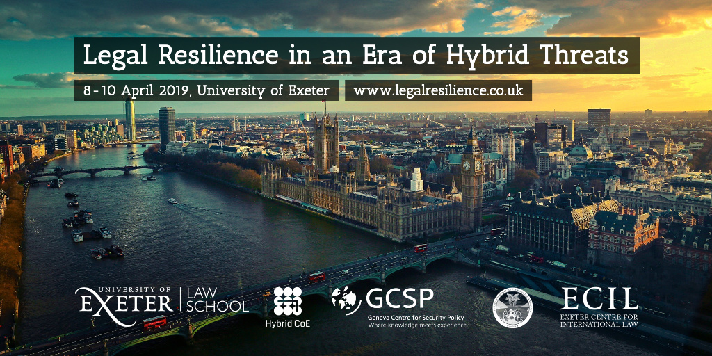 Legal Resilience Conference Poster