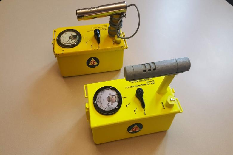 PANE displays a 3D printed Geiger Counter