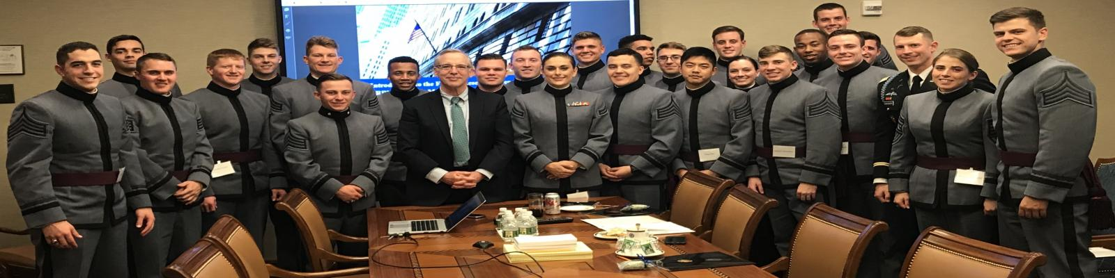 Cadets visit the NY Fed