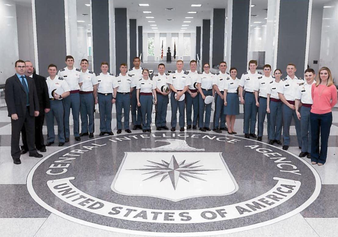 TSM Cadets visit the CIA