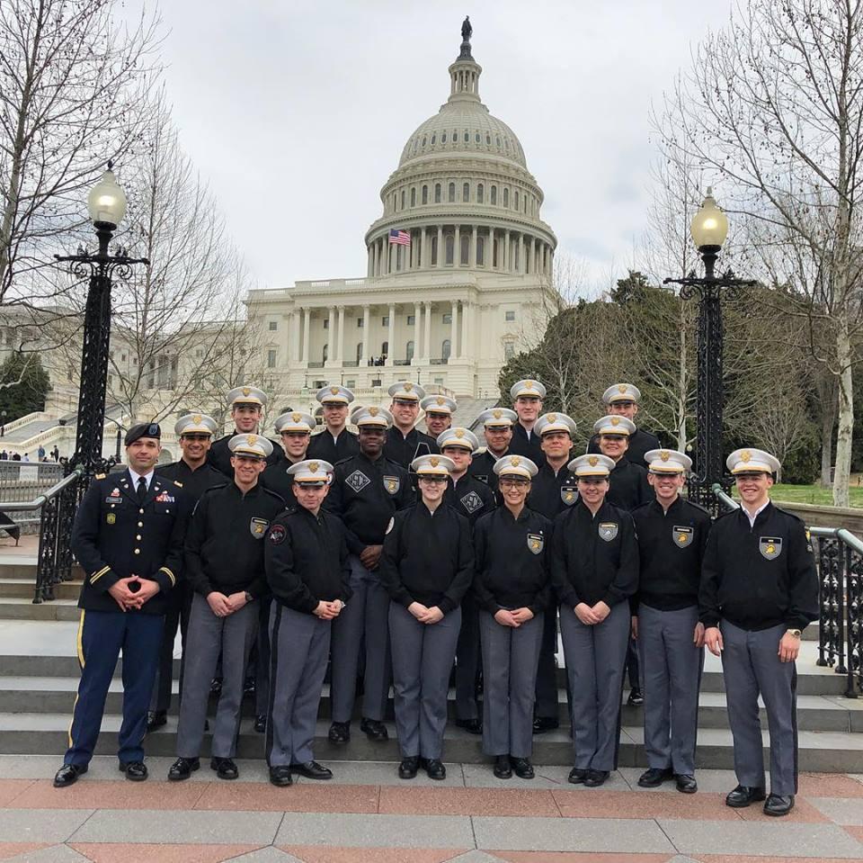 Cadets visit the U.S. Capital
