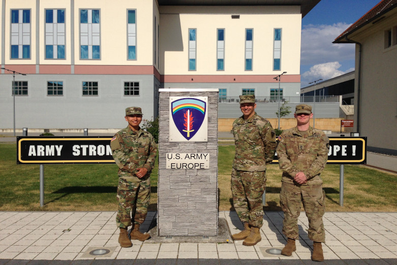 Cadets on their internship to US Army Europe.