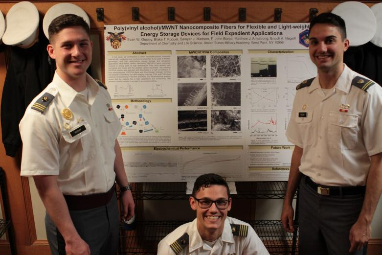 Chemical Engineering majors participate in projects day 2019.
