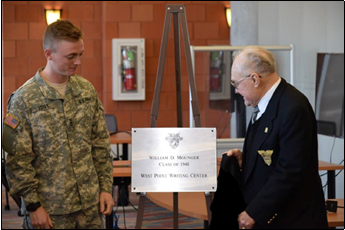 Dedication of the Mounger Writing Center