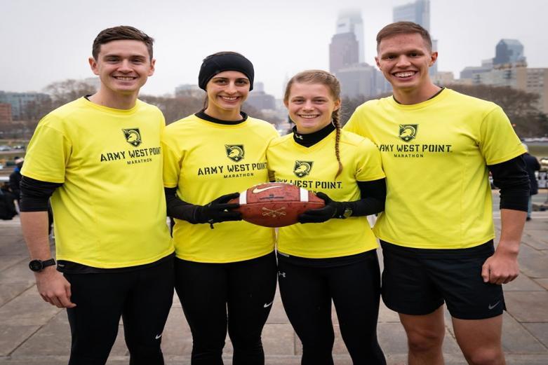 West Point Marathon Team - Army Navy Ball Run 2019
