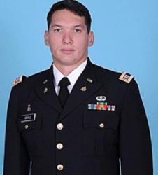 CPT Arauz official photo in uniform