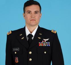 CPT DeRosa official photo in uniform