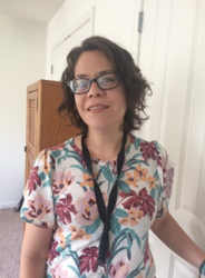 Dr Maria Del Rosario Lara in a room