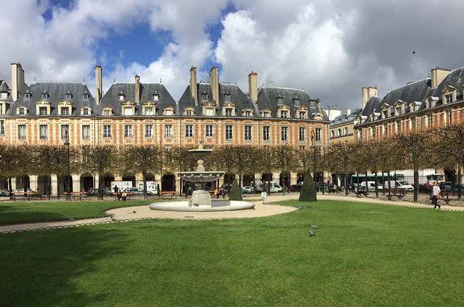 19 Place des Vosges, Paris,