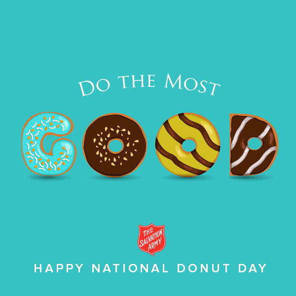 Salvation Army Donut Day