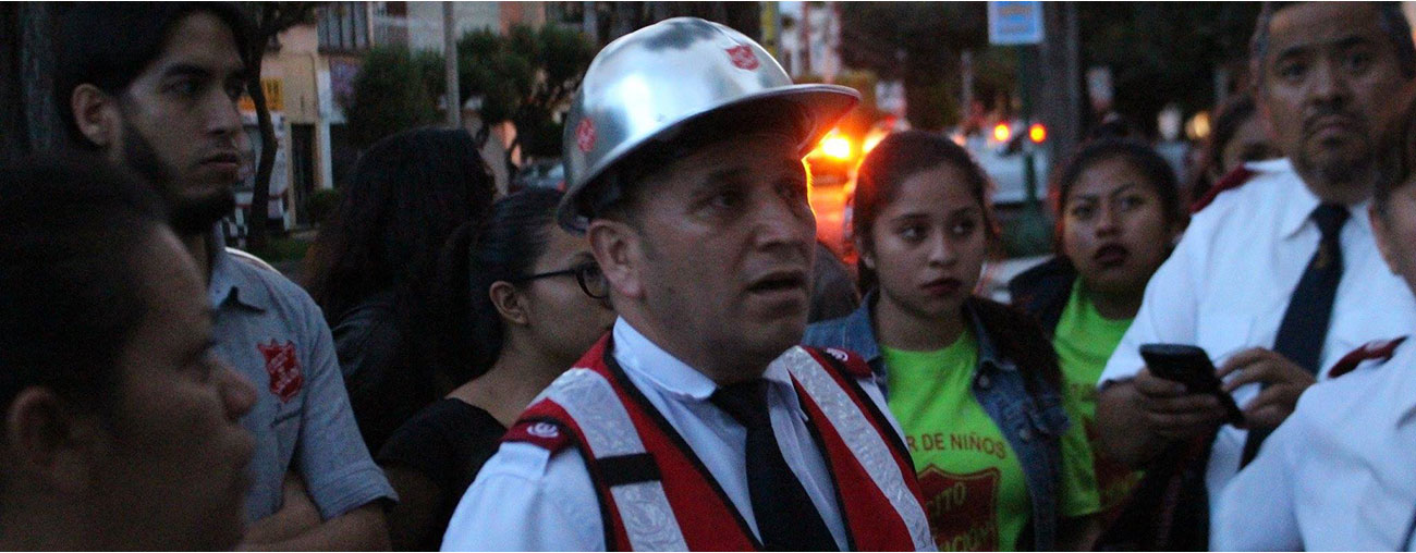 Salvation Army supports<br> Mexico earthquake relief efforts Image