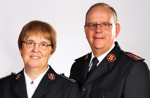 General André Cox and Commissioner Silvia Cox