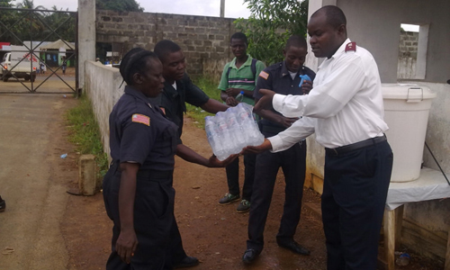 Salvation Army Response to Ebola