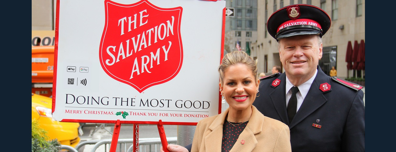 Candace Cameron Bure Named 2019-2020 </br> Celebrity Ambassador for The Salvation Army Image