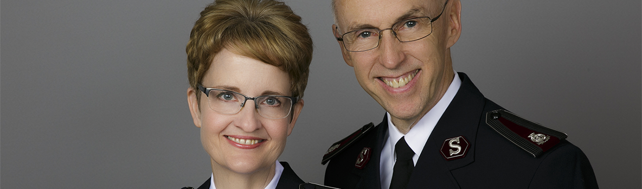 The Salvation Army welcomes our new National Leaders, Commissioners Kenneth G. and Jolene K. Hodder Image