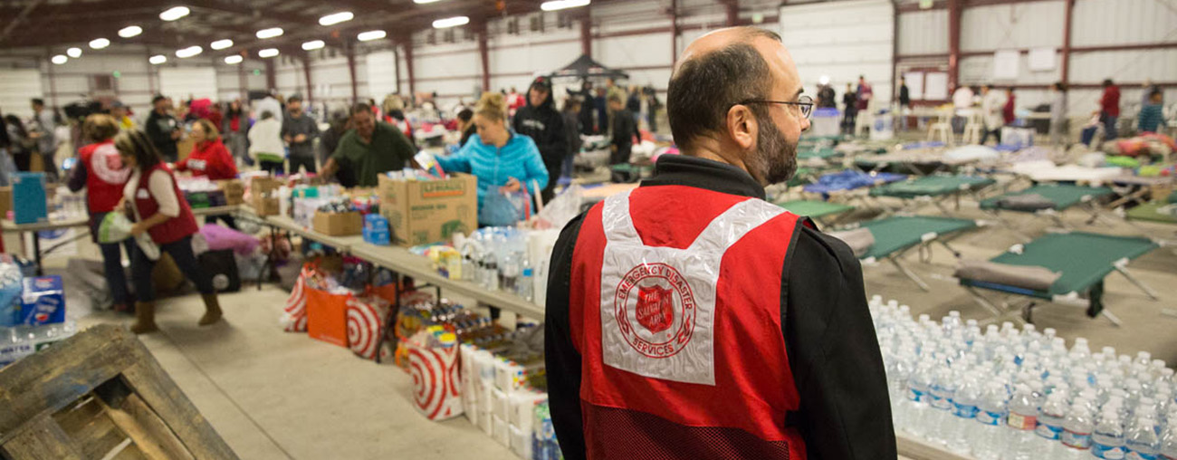 The Salvation Army Supports Wildfire Relief Efforts Image