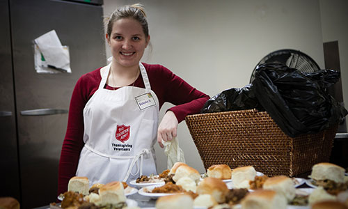 Salvation Army Volunteer