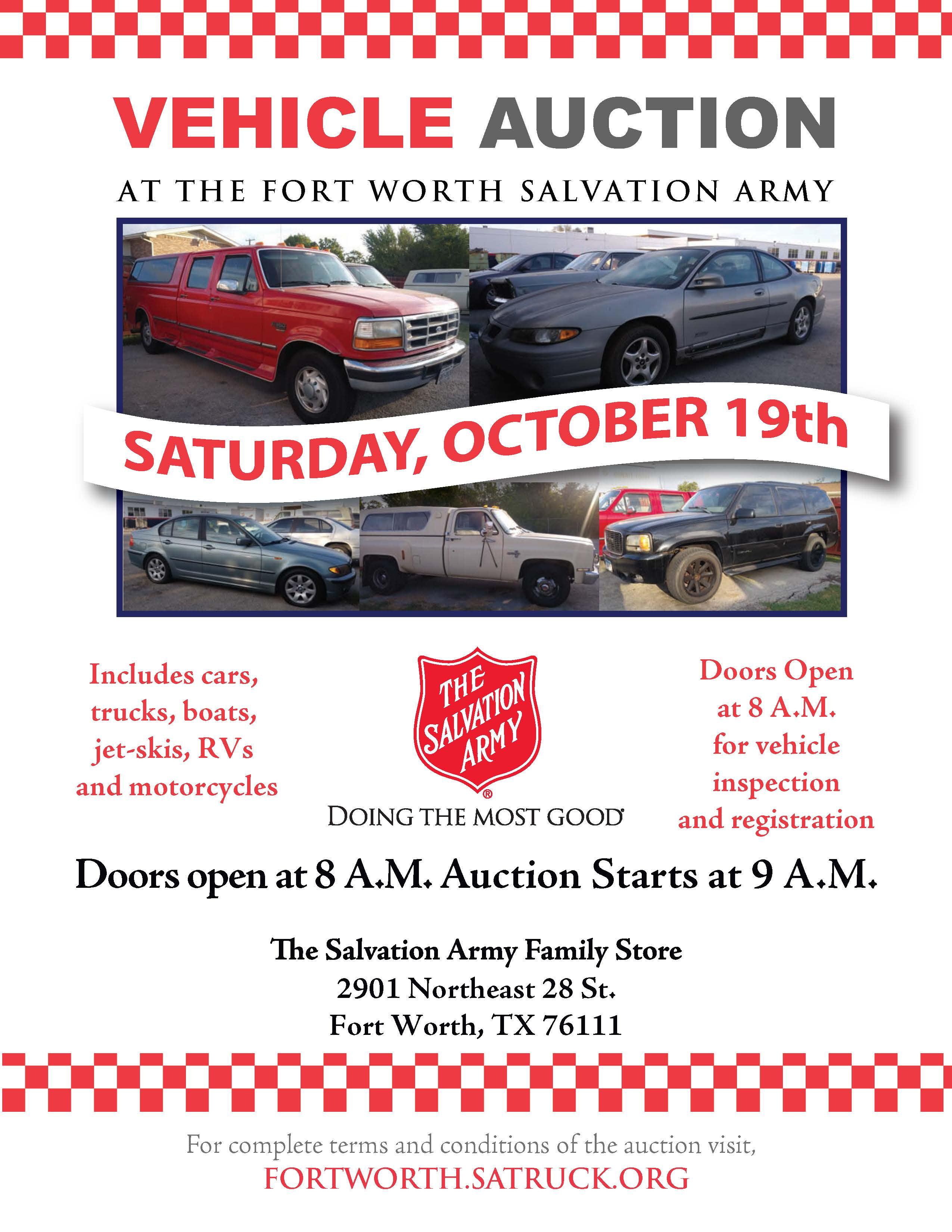 Fort Worth Tx Vehicle Auction