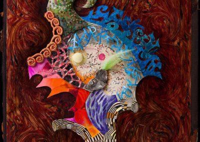 Jenny Abell, Book Cover No. 137, 2013, Mixed media