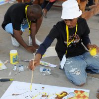Participant in Maun workshop
