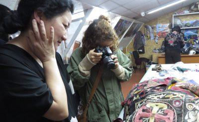 AIDAI Design Studio visit in Bishkek.