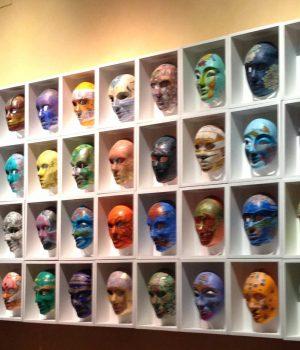 Villa Taverna Rome Masks