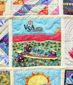 VSA quilt detail