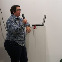 Catherine Opie lectures in Madrid
