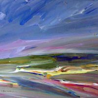 Jeri Brainard, Expressive Color II, Overall: 10 3/4 × 14in. (27.3 × 35.6cm), Courtest of the artist and Kiechel Fine Art, Lincoln, Nebraska