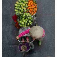 Loes Heerink, Untitled (Vendors of Vietnam), Overall: 15 3/4 × 23 5/8in. (40 × 60cm), Courtesy of the artist, Enschede, The Netherlands